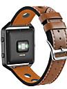 시계 밴드 Fitbit Blaze 용 핏빗 모던 버클 천연 가죽 손목 스트랩