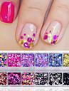 1set Glitter Powder Sequins nail art Manicure Pedicure Sweet Style / Fashionable Jewelry / Classic Daily
