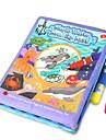 Tablettes de Dessin Jouets Carre Animaux Peinture Pieces