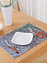 Graphics Linen&Cotton Blend Square Placemat Table Decorations