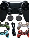 for PS4 Game Controller Kits For PS4 ,  Gaming Handle Game Controller Kits Silicone / ABS 1 pcs unit