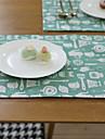 보통 린넨&코튼 혼방 광장 식탁매트 테이블 장식