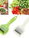 Outils de cuisine Acier inox + ABS Accueil Outil de cuisine Cutter & Slicer Pour Ustensiles de cuisine 1pc