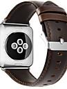 Ремешок для часов для Apple Watch Series 3 / 2 / 1 Apple Современная застежка Натуральная кожа Повязка на запястье