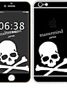 1 pc Skin Sticker for Scratch Proof Skull Pattern PVC iPhone 6s/6