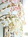 زهور اصطناعية 1 فرع الزفاف الطراز الأوروبي ساكورا أزهار الحائط