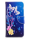 Case For Samsung Galaxy A8 2018 A8 Plus 2018 Card Holder Wallet with Stand Flip Pattern Full Body Cases Butterfly Hard PU Leather for