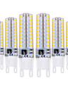 YWXLIGHT® 6pcs 5W 400-500lm G9 2-pins LED-lampen T 72 LED-kralen SMD 2835 Dimbaar Warm wit Koel wit 220-240V