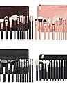 15pcs Powder Brush Eyeshadow Brush Blush Brush Makeup Brush Set Synthetic Hair Eco-friendly Professional Soft Wood Eye Face Eco-friendly