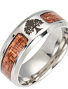 Men\'s Tree of Life Band Ring - Fashion Brown Ring For Daily