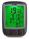 SD-563A Compteur de Vélo Chronomètre Etanche A Fil Mémoire arrêt sur image Réglage de la circonférence des roues Odomètre On/Off