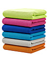 Cooling Towel Odor Free Eco-friendly Soft Multi-purpose Breathable Non Toxic Microfiber cm Yoga Gym Travel Green Blue Pink Navy Grey