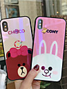 Custodia Per Apple iPhone X / iPhone 8 Fantasia / disegno Per retro Animali / Cartoni animati Resistente Vetro temperato per iPhone X / iPhone 8 Plus / iPhone 8