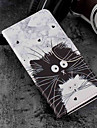Case For Sony Xperia XZ2 / Xperia XZ2 Compact Card Holder / Wallet / with Stand Full Body Cases Cat Hard PU Leather for Xperia XZ2 /