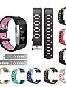 Watch Band varten Fitbit Charge 2 Fitbit Urheiluhihna Silikoni Rannehihna