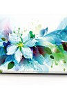 "MacBook Etui Blomst Plast for Ny MacBook Pro 15"" / Ny MacBook Pro 13"" / MacBook Pro 15-tommer"