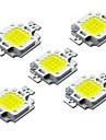 ZDM® 5pcs 하이 파워 LED 벌브 액세서리 LED 칩 알루미늄 / 퓨어 골드 와이어 LED DIY 용 LED 홍수 스포트 라이트 10W