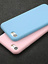 Case For Apple iPhone X / iPhone 6 Ultra-thin Back Cover Solid Colored Soft TPU for iPhone X / iPhone 8 Plus / iPhone 8