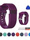 حزام إلى Fitbit Charge HR فيتبيت بكلة كلاسيكية سيليكون شريط المعصم