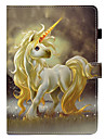 Case For Apple iPad (2017) / iPad 4/3/2 Card Holder / with Stand / Flip Full Body Cases Unicorn Hard PU Leather for iPad Air / iPad 4/3/2 / iPad Mini 3/2/1 / iPad Pro 10.5