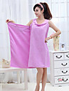 Superior Quality Bath Towel, Solid Colored Polyester / Cotton Blend Bathroom 1 pcs