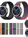 Watch Band için Gear S3 Frontier / Gear S3 Classic Samsung Galaxy Modern Toka Naylon Bilek Askısı