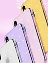 Huelle Fuer Apple iPhone 8 / iPhone 8 Plus Strass / Glaenzender Schein Rueckseite Geometrische Muster / Glaenzender Schein Weich TPU fuer iPhone X / iPhone 8 Plus / iPhone 8