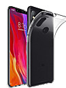 Кейс для Назначение Xiaomi Mi 8 / Mi 8 SE Прозрачный Кейс на заднюю панель Однотонный Мягкий ТПУ для Xiaomi Mi Mix 2 / Xiaomi Mi Mix 2S / Xiaomi Mi Mix / Xiaomi Mi 6