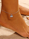 Anklet - Elephant, Animal Simple Silver For Daily Street Going out Women\'s