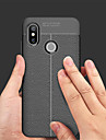 Case For Xiaomi Mi 8 / Mi 8 SE Embossed Back Cover Solid Colored Soft PU Leather for Xiaomi Mi Mix 2 / Xiaomi Mi Mix 2S / Xiaomi Mi 8