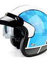 YOHE YH-859 Medio Casco Adultos Unisex Casco de la motocicleta Transpirable / Desodorante / Anti-sudor