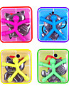 10 pcs Magnet Toy Mini Q-Man Magnet Cute Rubber Magnet Men Building Blocks Silicone Magnetic Kid's Boys' Girls' Toy Gift
