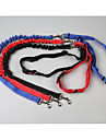 Dogs Leash / Hands Free Leash Portable / Breathable / Adjustable Flexible Solid Colored Nylon Black / Red / Blue