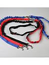 Câini Lese / Mâinile Leash Free Portabil / Respirabil / reglabil flexibil Mată Nailon Negru / Rosu / Albastru