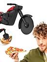 motorkerékpár pizza vágó rozsdamentes acél kerék kés roller pizza chopper szeletelő