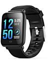 q9 Hombre Reloj elegante Android iOS Bluetooth Impermeable Monitor de Pulso Cardiaco Medicion de la Presion Sanguinea Pantalla Tactil Calorias Quemadas Podometro Recordatorio de Llamadas Seguimiento