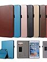 מגן עבור Apple מיני iPad 4 / iPad Mini 3/2/1 מחזיק כרטיסים / עם מעמד / מגנטי כיסוי מלא אחיד קשיח עור PU ל iPad Mini 3/2/1 / iPad Mini 4 / iPad (2018)