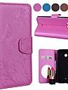 Custodia Per HTC M9 / U11 A portafoglio / Porta-carte di credito / Con supporto Integrale Farfalla Resistente pelle sintetica per HTC U11 / HTC M8 / HTC M9
