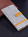 Case For Sony Xperia XA2 Ultra / Sony Xperia XA2 Wallet / Card Holder / with Stand Full Body Cases Solid Colored Hard Textile for Xperia XZ1 Compact / Sony Xperia XZ1 / Sony Xperia XZ Premium
