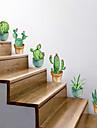 Ozdobné samolepky na zeď - Samolepky na stěnu Květinový / Botanický motiv Obývací pokoj / Ložnice / Koupelna / Nastavitelná poloha