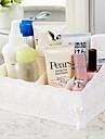 El plastico Rectangulo Nuevo diseno / Cool Casa Organizacion, 1pc Almacenamiento de Maquillaje