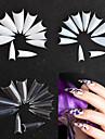 500 クリエイティブ ネイルアート マニキュアペディキュア 幾何学模様 / レトロ風 パーティー / デイリーウェア