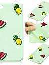 Coque Pour Apple iPhone 7 / iPhone 7 Plus Motif Coque Dessin Anime 3D / Fruit Flexible Silicone pour iPhone 7 Plus / iPhone 7 / iPhone 6s Plus