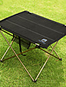 Camping Table Outdoor Portable, Lightweight, Collapsible Aluminium for Fishing / Hiking / Beach Black