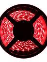 HKV 6m 유연한 LED 조명 스트립 300 LED 3528 SMD 따뜻한 화이트 / 차가운 화이트 / 레드 컷테이블 / 연결가능 / 접착성이 있는 12 V
