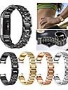 시계 밴드 용 Fitbit Charge 2 핏빗 스포츠 밴드 / 쥬얼리 디자인 스테인레스 스틸 / 세라믹 손목 스트랩
