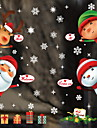 Window Film & Stickers Decoration Christmas Holiday / Character PVC(PolyVinyl Chloride) Window Sticker