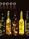 Brelong 10 llevo la botella de vino luces de cadena de cobre navidad fiesta de bodas de halloween y decoracion de interiores 5 unids
