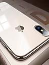 Capinha Para Apple iPhone 8 / iPhone XS Max Galvanizado / Ultra-Fina / Translucido Capa traseira Solido Macia TPU para iPhone XS / iPhone XR / iPhone XS Max