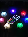 BRELONG® 1pc LED noćno svjetlo Gumb Baterija pogonjena Vodootporno / Daljinski upravljano / Jednostavno za nošenje <5 V